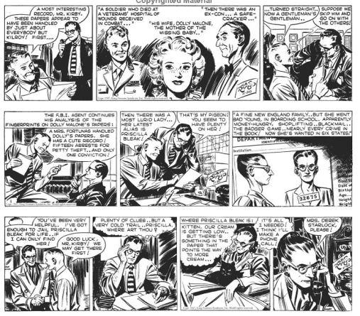 La mise en page : 3 strips par page