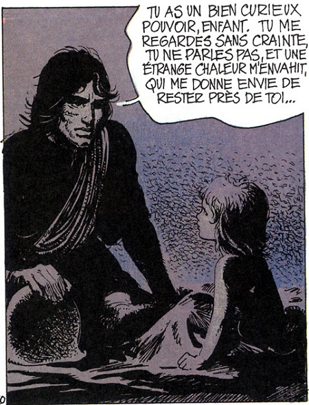 Ah! Et c'est aussi ici que Thorgal rencontre Jolan, son fils!