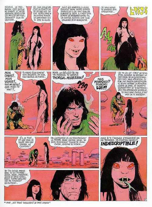 """Thorgal reverra souvent le Deuxième Monde et sa """"jolie"""" Gardienne des clés…"""
