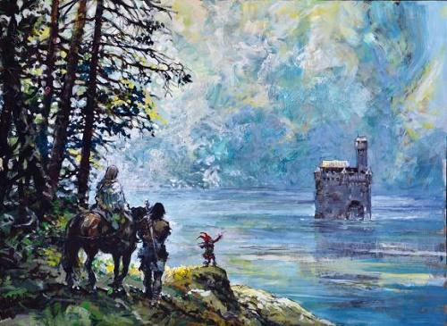 Rosinski et ses peintures…