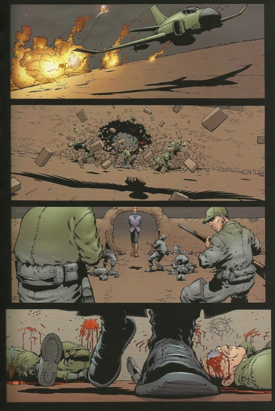 The Authority par Frank Quitely et Mark Millar