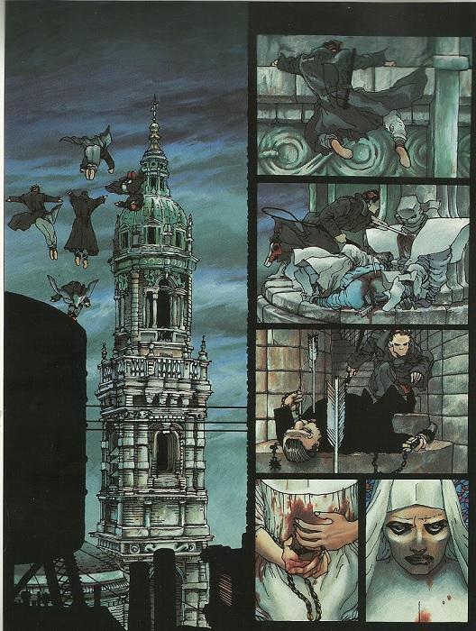 Elektra lives again, par Frank Miller et Lynn Varley aux couleurs