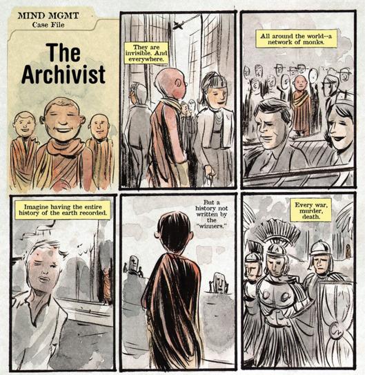 Les archivistes de l'humanité