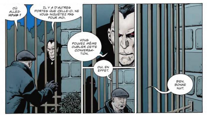 Silas face au Jack jouent à chat dans une maison-prison