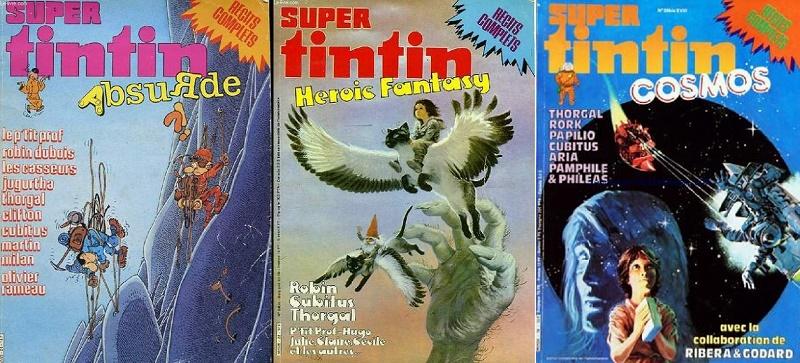 Trois petites histoires publiées comme autant de bonus dans le journal Super Tintin !