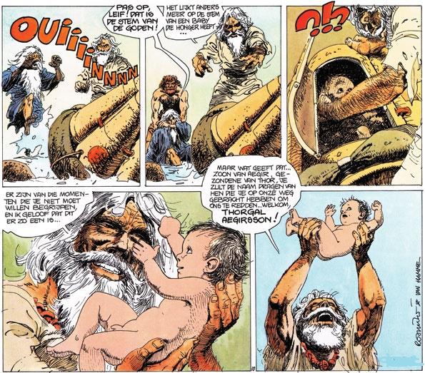 Moïse Thorgal, sauvé des eaux !