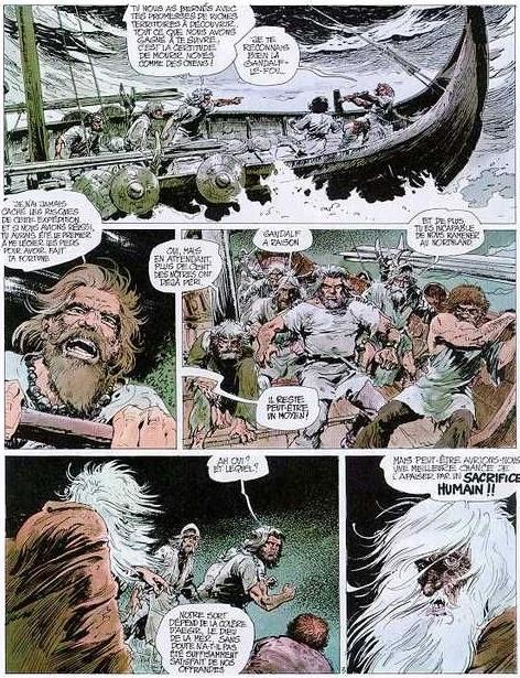 La routine, pour les viking du Nord…