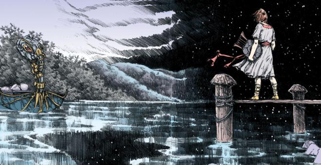 Orphée accueille son père aux portes de la mort