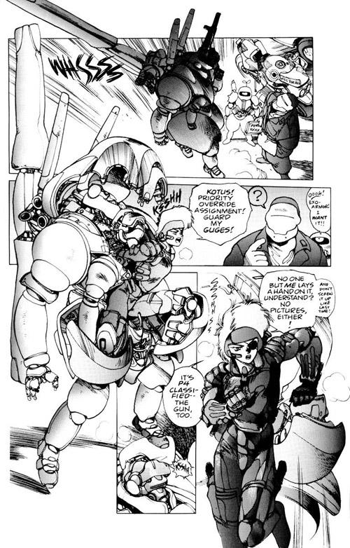 Shirow: un dessinateur aimant rouler des mécaniques…
