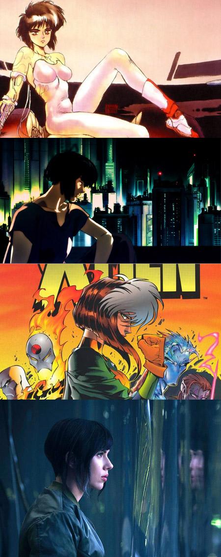 Du manga au cinéma, en passant par les anime et les comics: une héroïne multimédia!