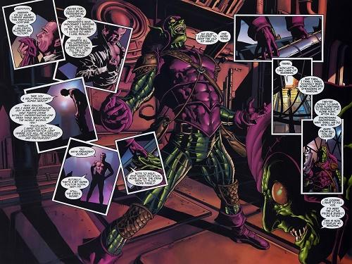 Norman Osborn dans les années 2000. Un psychopathe très éloigné de ses origines!