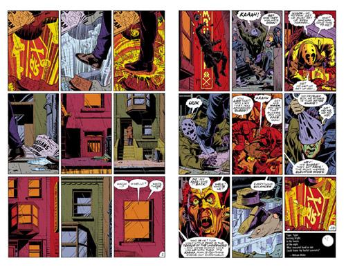 Première et dernière page de Fearful Symmetry