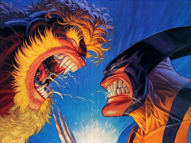 La célèbre cover de Wolverine : une histoire réussie, des doubles pages dépliables et des dessins qui en jettent encore