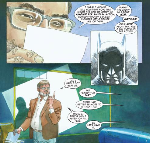 Une histoire sur Batman, mais pas seulement…