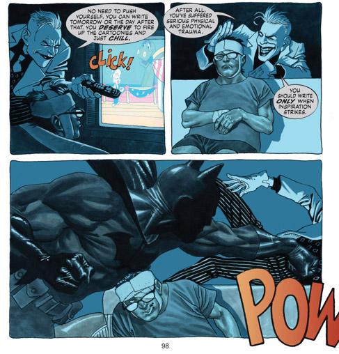 Batman convoqué pour combattre un ennemi redoutable: la procrastination
