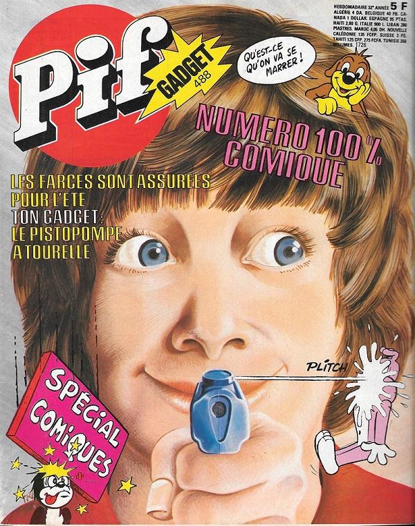 Pif Gadget N°488 : Mon plus beau souvenir !