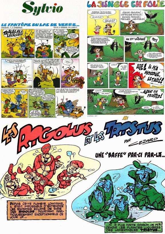 Petit florilège des séries de notre enfance…