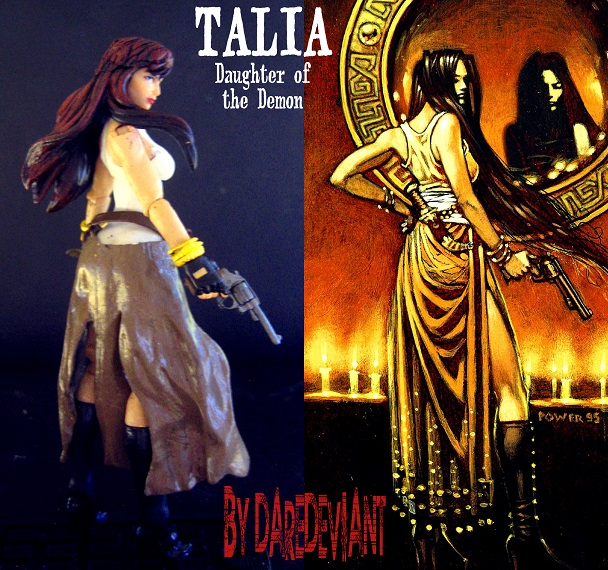 Talia, Daughter of the Demon… Sexy as hell