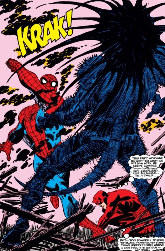 Spider-Man à la rescousse pour lutter contre Blackheart