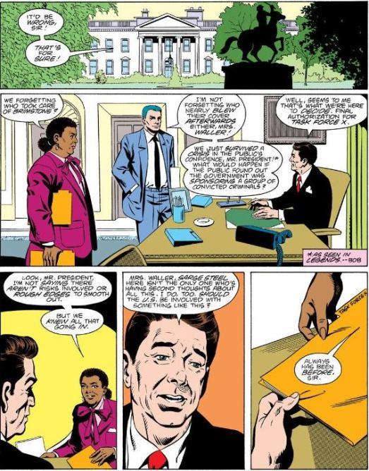 En direct dans le bureau ovale (avec Ronald Reagan)