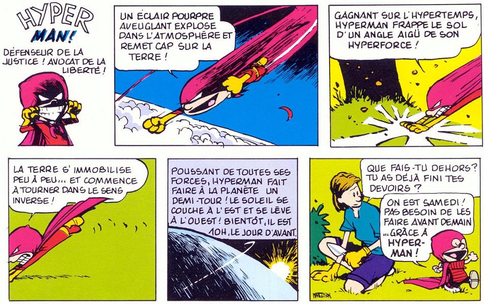 Ducobu n'y avait pas pensé... Superman si !