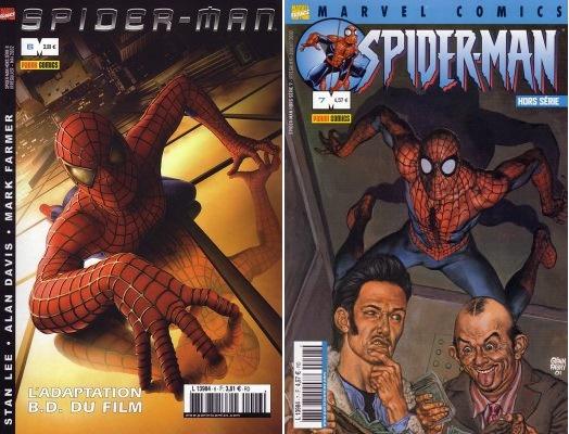 Une adaptation, et puis après, Spiderman par Garth Ennis!!!