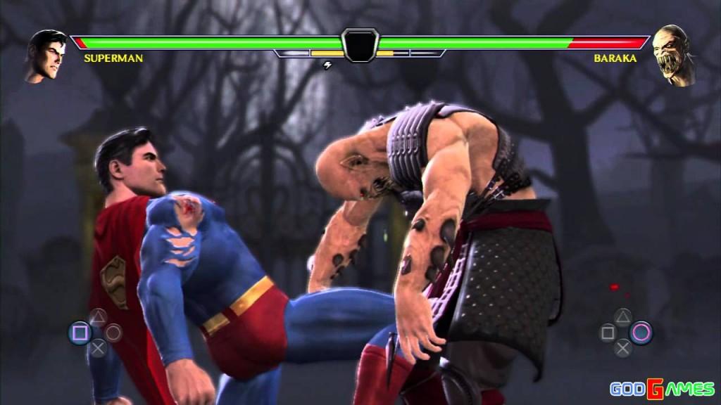 Baraka se demande si la chance l'abandonné et pourquoi c'est à lui d'affronter Superman....