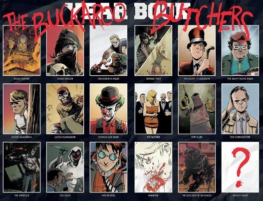 La spécialité de Buckaroo : les tueurs en série