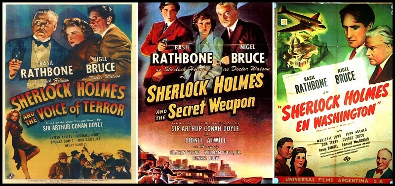 Sherlock Holmes passe au XX° siècle et… fight les nazis!