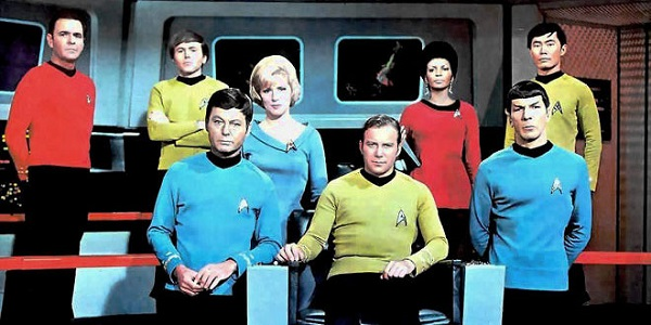 Le casting est maintenant au complet.  © CBS.  Source : Wikipedia https://en.wikipedia.org/wiki/Star_Trek:_The_Original_Series