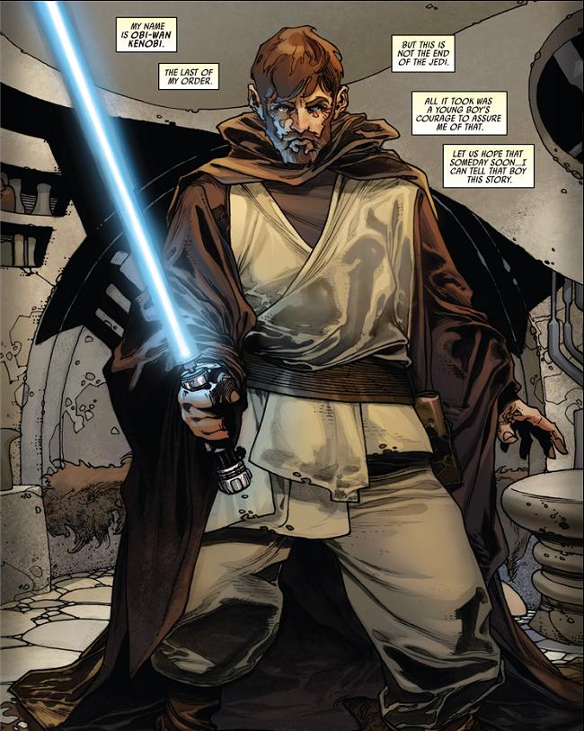 Qu'y avait-il dans le Journal de Ben Kenobi?