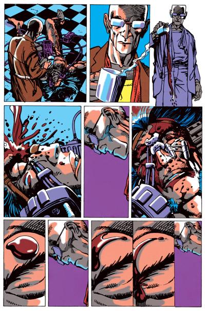 Non, les choses ne vont pas se tasser pour le pauvre Logan…