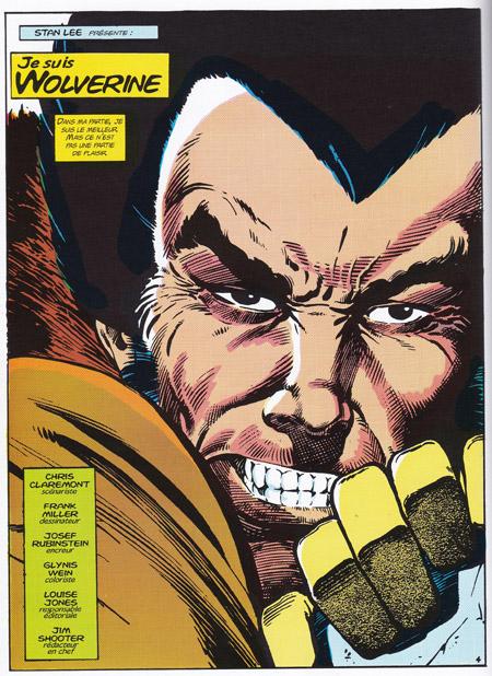Première page: «Je suis Wolverine» Un personnage sur le point de se redéfinir…