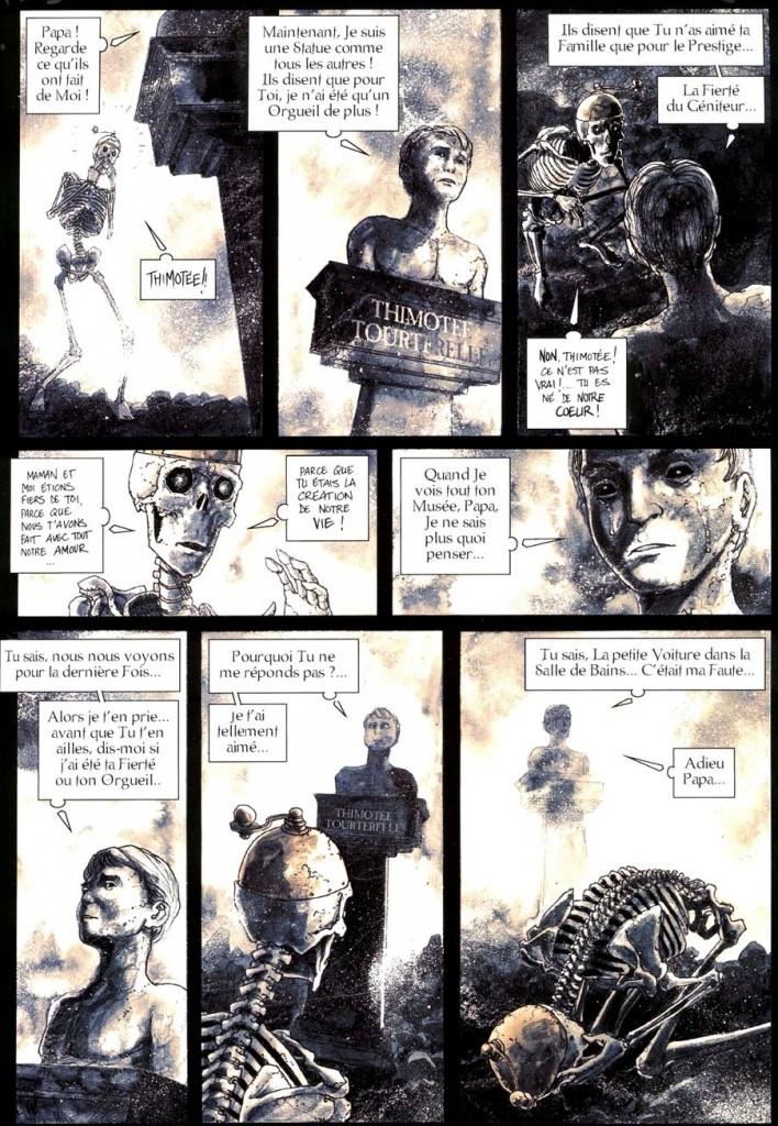 Des scènes poignantes dans le labyrinthe de l'esprit