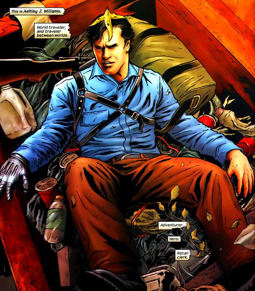 Arrivée en fanfare pour Ash… dans une poubelle!