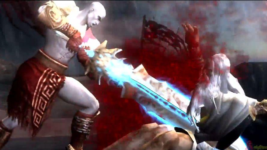 Kratos et son pote Zeus
