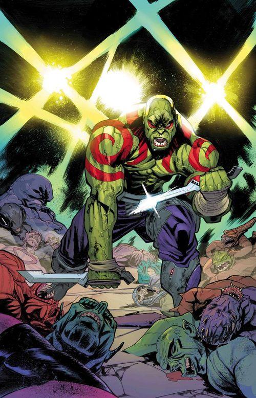 La nouvelle apparence de Drax le destructeur inspirée de Kratos