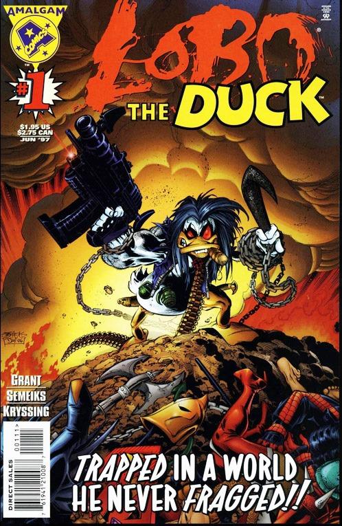 Un canard encore plus colérique Donald Duck!