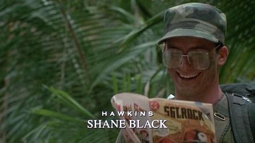Shane Black le seul geek de la bande