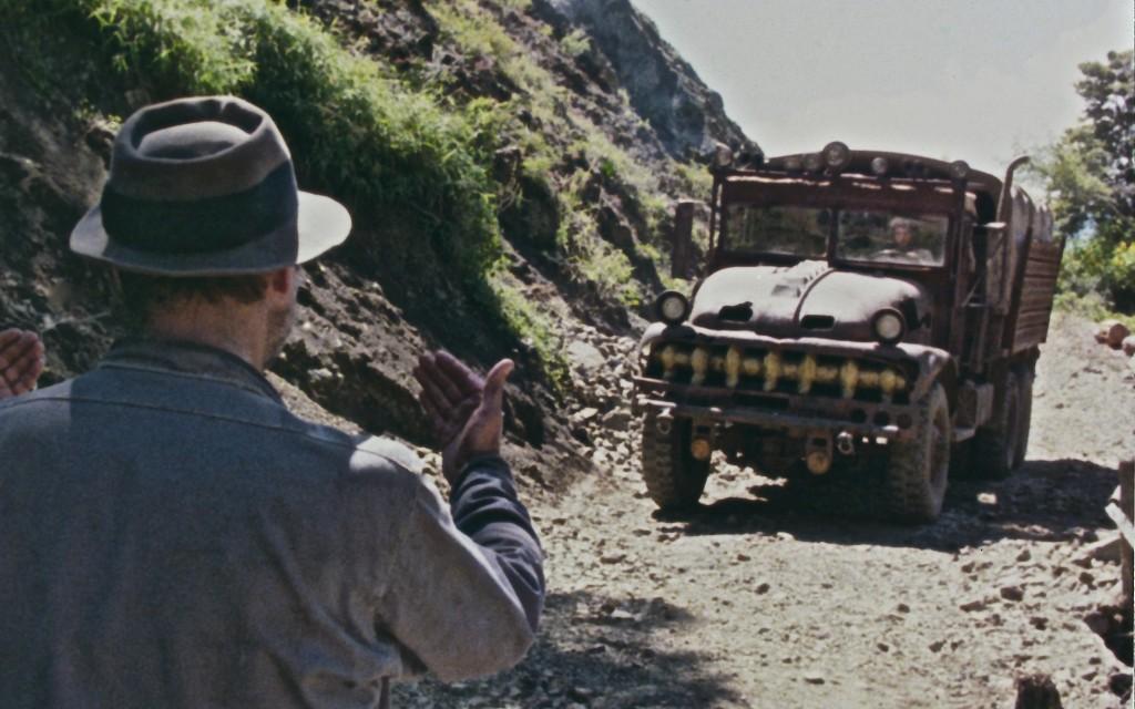 Ce camion a quand même une gueule d'idole aztèque comme on en croise quelques une dans le film. La malédiction de Tezcatlipoca est-elle plus forte que celle de Pazuzu?
