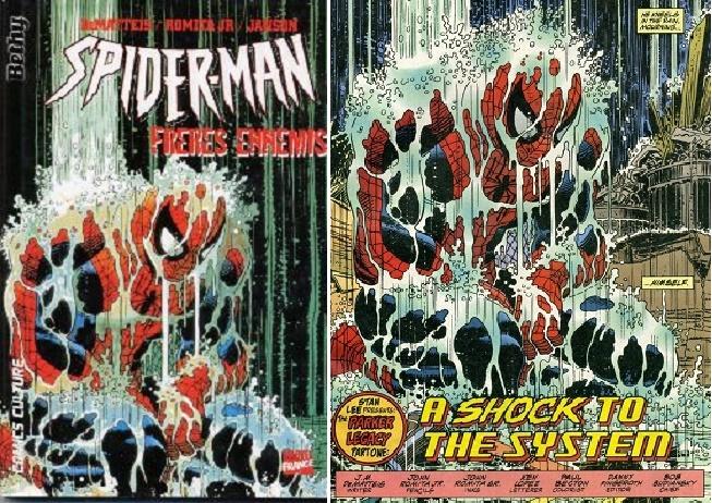 Un Spiderman sans Spiderman, avec une couverture mensongère provenant d'un épisode d'une autre série (la preuve à droite) !