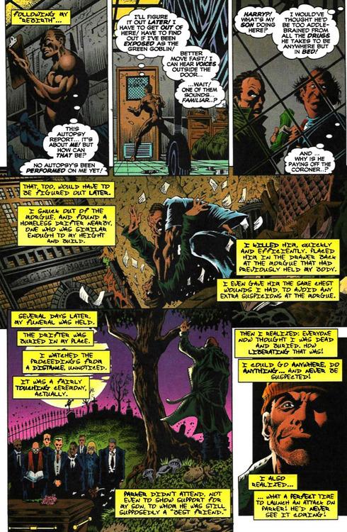 Un style gothique à la Bernie Wrightson pour le journal d'Osborn!