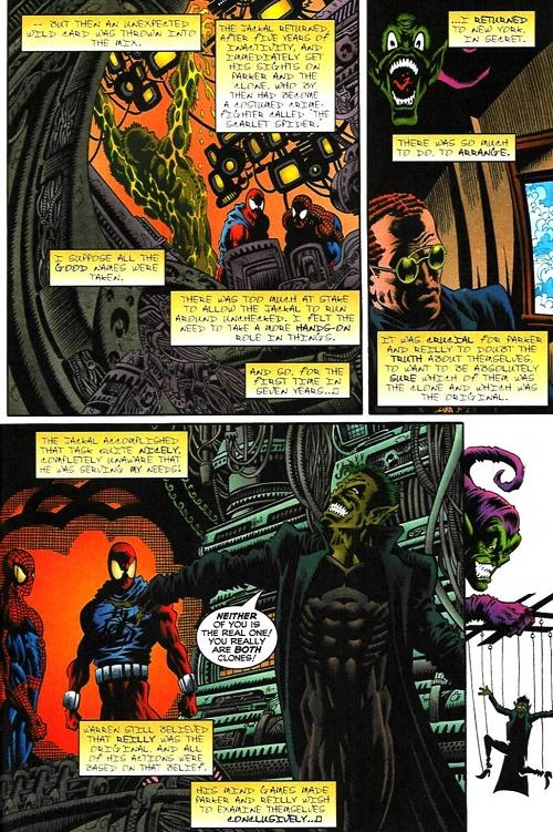 Les plus beaux dessins de la Saga du Clone sont donc ailleurs que dans la Saga du Clone…