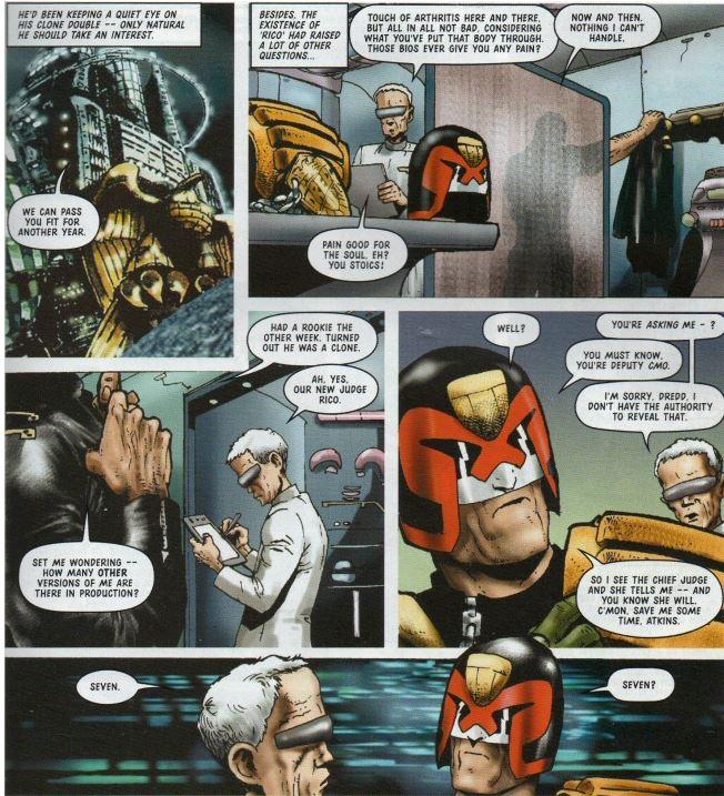 Joe Dredd accuse le coup : il existe d'autres clones !