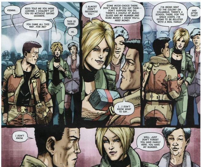 Dollan, le clone adolescent de Dredd a un visage refait