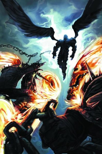 Ghost Riders vs Heaven ghost