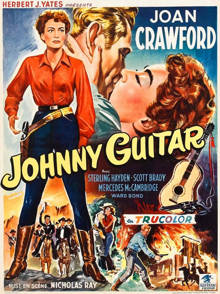 Jamais je ne trouverai un homme comme mon Johnny/ comme celui que l'on appelle Johnny Guitare