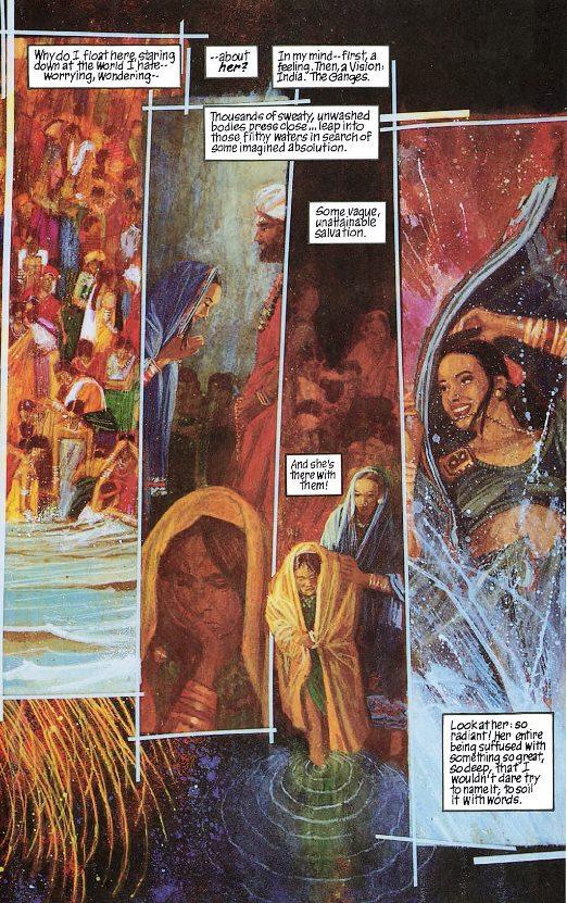 Une immersion dans le Gange
