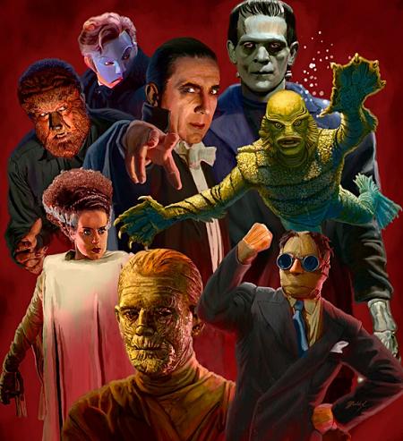 Le club des monstres!