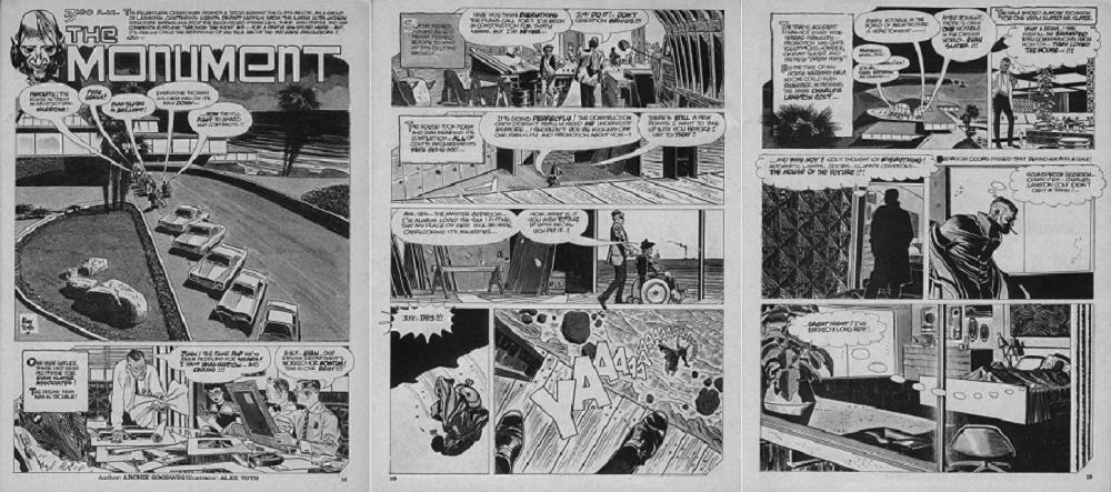 Archie Goodwin & Alex Toth explorent l'architecture contemporaine!